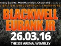 Blackwell vs Eubank Jr – 26 March at The SSE Arena, Wembley